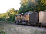 UP 7160 Weston Coal Loads east of Chippewa Spring